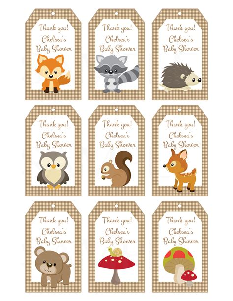 woodland friends forest animals theme  thelovelymemories