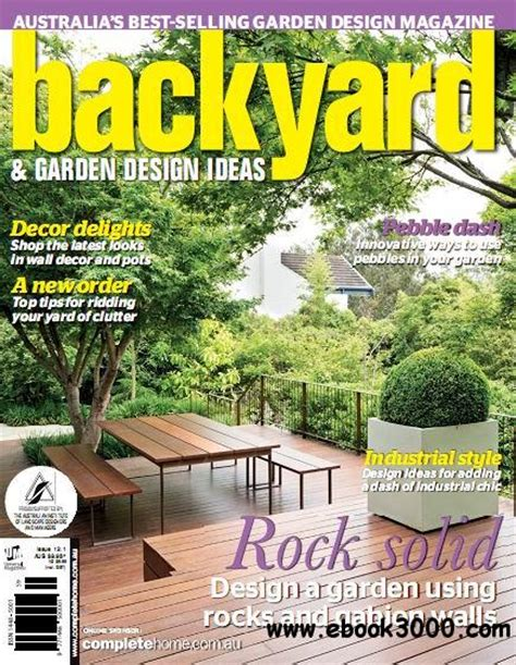 backyard garden magazine backyard garden design ideas magazine issue 12 1 free