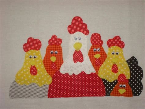 cenefas de gallinas en patchwork calinas para cenefa de cocina patchword pinterest