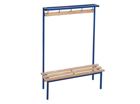 changing room benching buy single sided cloakroom bench free delivery