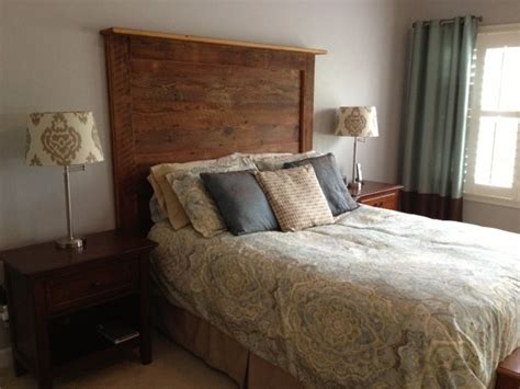 barn wood headboard barn wood headboards contemporary bedroom richmond
