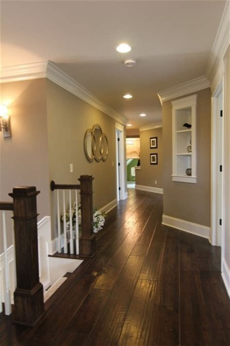 wall and trim color combinations dark floors white trim warm walls i want to do this