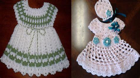 vestidos para bebes de tejido como hacer vestidos tejidos a gancho patrones de vestidos