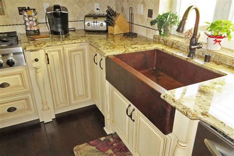 Sink Faucet Kitchen by 33 Quot Single Well Farmhouse Sink Copper Sinks Online