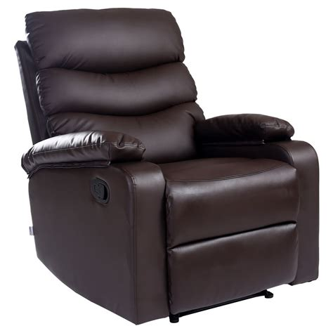 leather recliner lounges ashby leather recliner armchair sofa home lounge chair