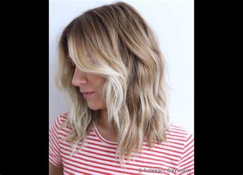 the blob hair style blob hair corte de cabelo blonde long bob 233 tend 234 ncia