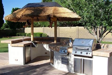 Tropical Outdoor Kitchen Designs Outdoor Kitchens Bbq