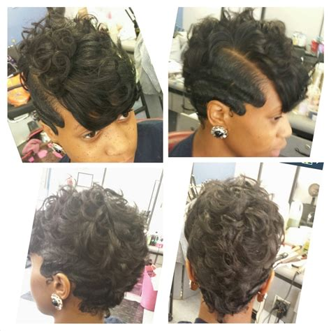 black hairstyles ocean waves natural hairstyles for african american finger wave