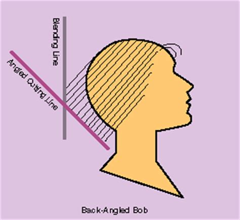 haircut diagrams how to how to cut a back angled bob cutting how to for a bob