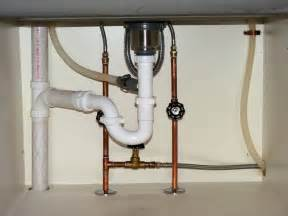 kitchen sink plumbing sink plumbing