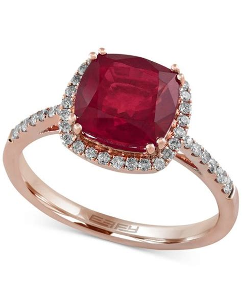 9 4 Ct Ruby effy collection rosa by effy ruby 3 1 8 ct t w and