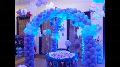 frozen themed party kelso frozen theme birthday party youtube