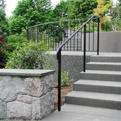 Outside Stair Railing Door Decorating Ideas Outdoor Stair Railing