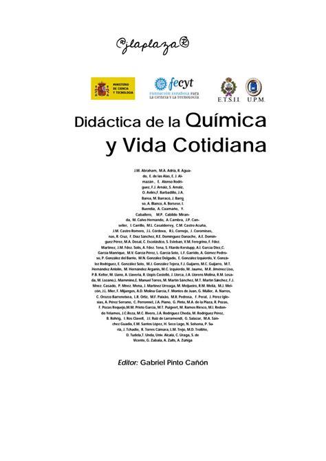 Quimica De La Vida Cotidiana By Javier Laplaza Issuu Colorante Formula Quimica L