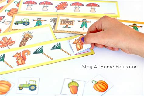Pattern Activities At Home | pattern activities at home 6 low prep fall activities for