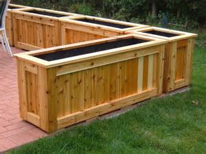 patio planters by lumberjocks woodworking