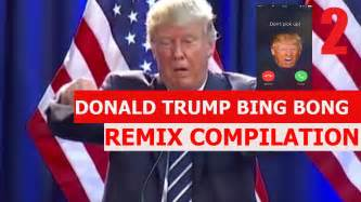 donald trump bing bong donald trump bing bong try not to laugh remix