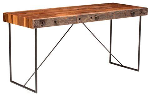 Rustic Modern Desk Computer Desk Reclaimed Wood Asla