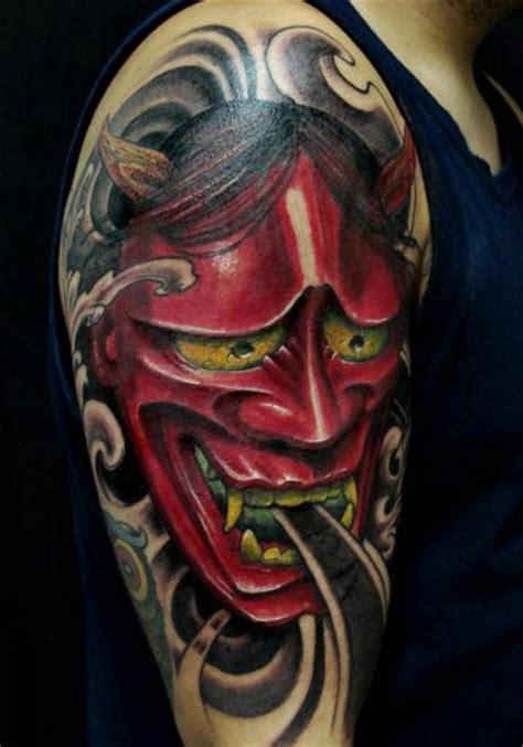 tattoo oriental demonio tatuaje hombro japoneses demonio por javier tattoo