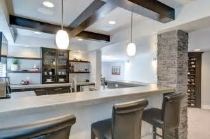 modern finished basements