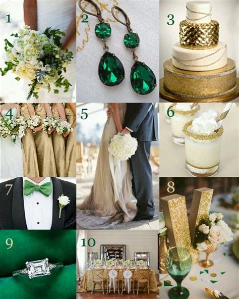 25  best ideas about Emerald wedding theme on Pinterest