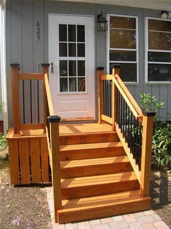 Back Stairs Design Back Porch Stairs Design Back Door Steps Ideas Ok So You Need More Than A Landing With A Set