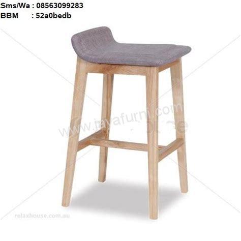 Kursi Barstool kursi bar stool kayu solid toko furniture toko