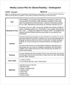 creating a lesson plan template sle kindergarten lesson plan 8 exles in pdf