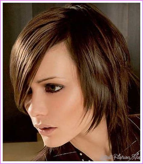 longer in the front and shorter in the back medium layered hairstyles haircuts short in back long front latestfashiontips com