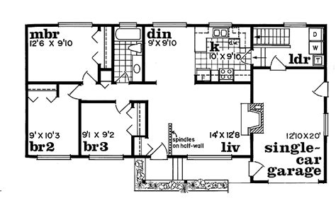 1 story ranch house plans 301 moved permanently