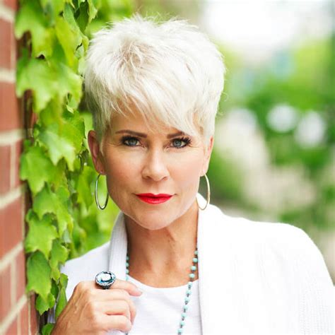 short hairstyles after 50 energetic style chic over 50 fabulous after 40