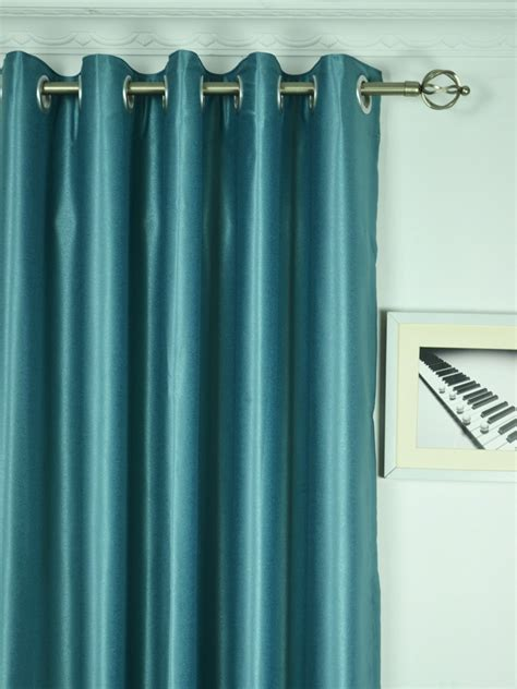 120 width curtains extra wide swan gray and blue solid grommet curtains 100