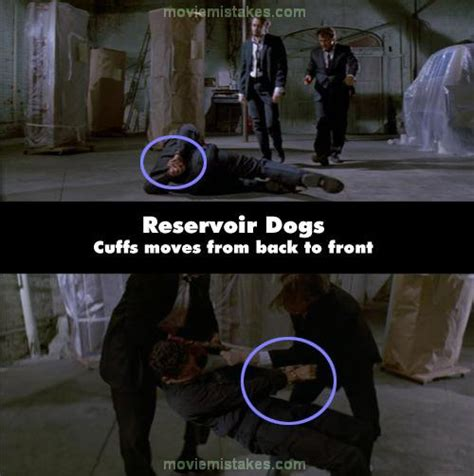 Reservoir Dogs Toilet Scene by 18 Movie Mistakes That Went Unnoticed For Years