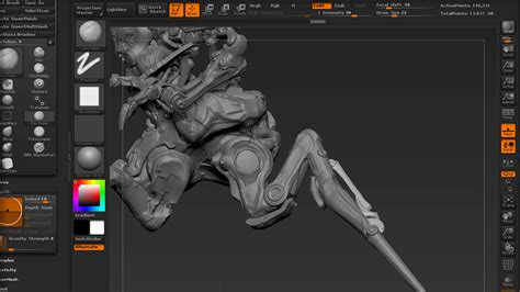 Design Concept Gallery | cyborg design concept art production techniques