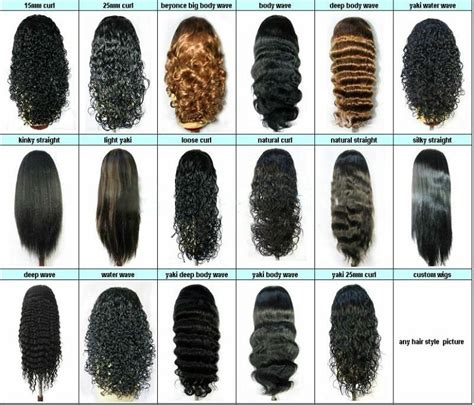 Types Of Weaves For Hair by Difference Between Hair Weave Types Hair Human Wavy