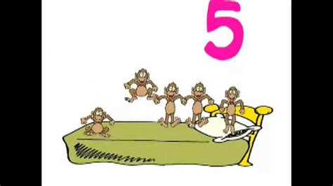 one little monkey jumping on the bed five little monkeys jumping on the bed original song youtube