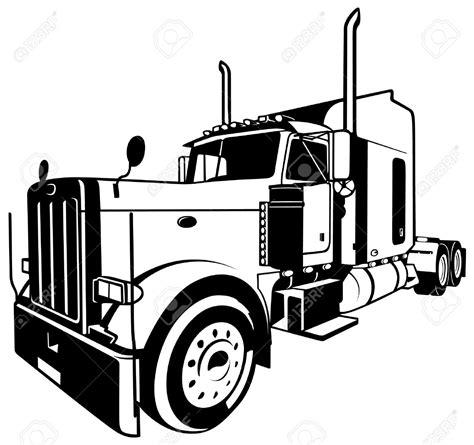 semi truck clip semi truck silhouette clip pictures to pin on
