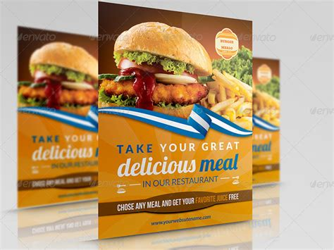 template flyer burger burger restaurant flyer template by owpictures graphicriver