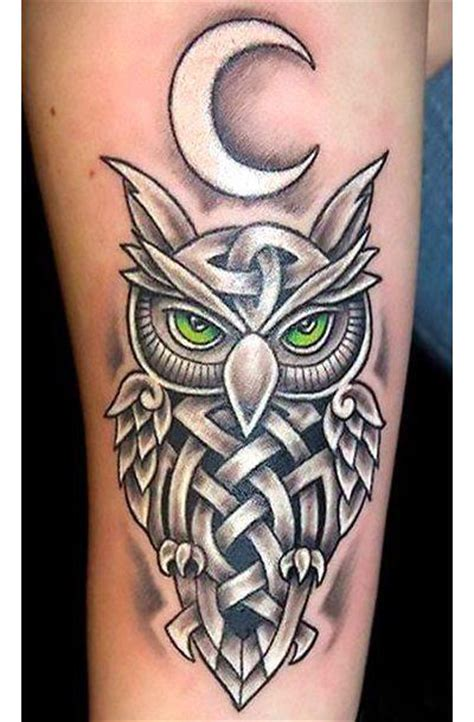 cool owl tattoo designs cool celtic owl idea