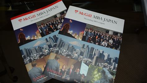 Mcgill Tokyo Mba by Give Your Career A Boost With Mcgill Mba Japan Savvy Tokyo