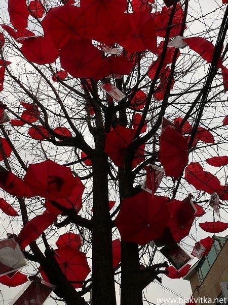 incredible umbrella art installations