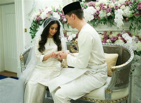 wedding  princess tunku aminah  dennis muhammad