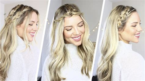 Braided Hairstyles For Hair How To by How To 3 Easy Braided Hairstyles Coachella Luxy Hair