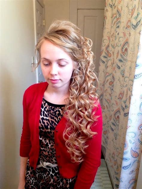 Ponytail Bottom Curly 1000 ideas about curly side ponytails on side