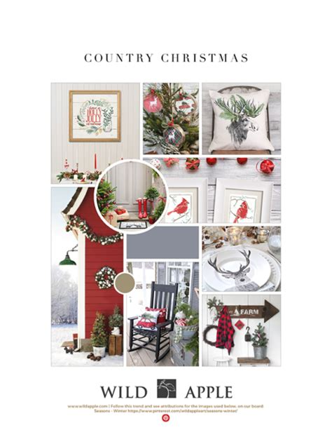 2017 christmas trends christmas in july wild apple