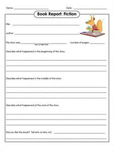 Book Report Templates by Sle Book Report Template 8 Free Documents
