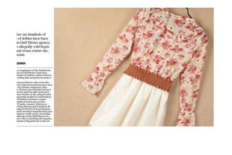 Dress Panjang Lengan Pendek Biru Import Murah dress import cantik lengan panjang bunga model terbaru jual murah import kerja
