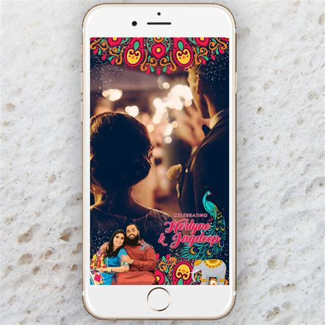 Indian Wedding Animation by Snapchat Indian Wedding Geofilter Animation Wedding