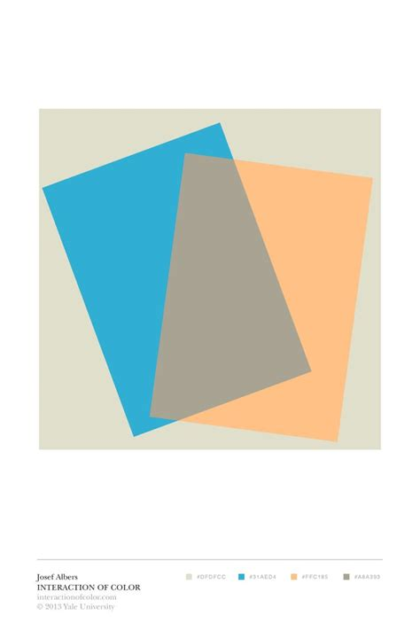 josef albers interaction of color m 225 s de 25 ideas incre 237 bles sobre josef albers en