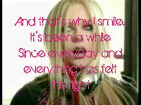 smile testo avril lavigne smile testo e traduzione lyrics on